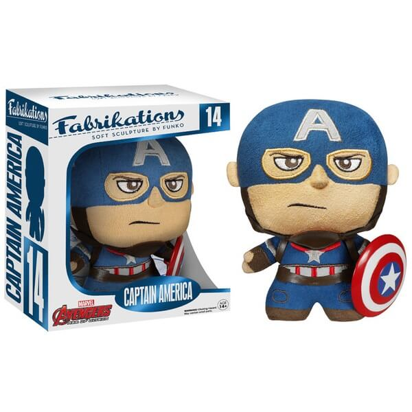 Peluche Fabrikations Captain America