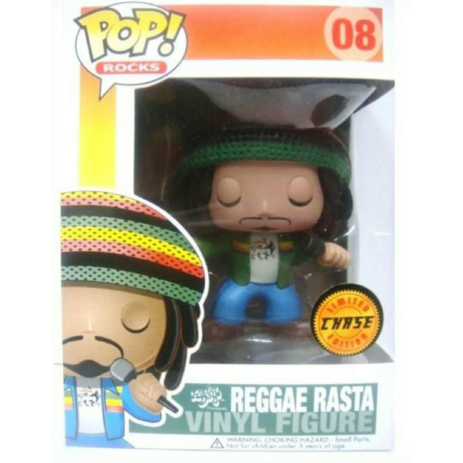 Funko Reggae Rasta Green Chase Pop Vinyl Pop In A Box Uk