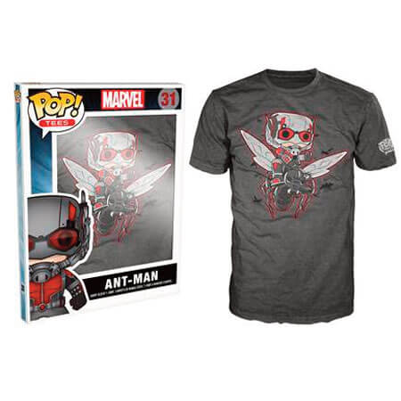 Funko Ant Man Pop! Tee Flying Ant Man Pop! Tees