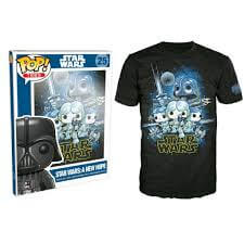 Funko XXL-Star Wars Pop! Tee A New Hope Pop! Tees