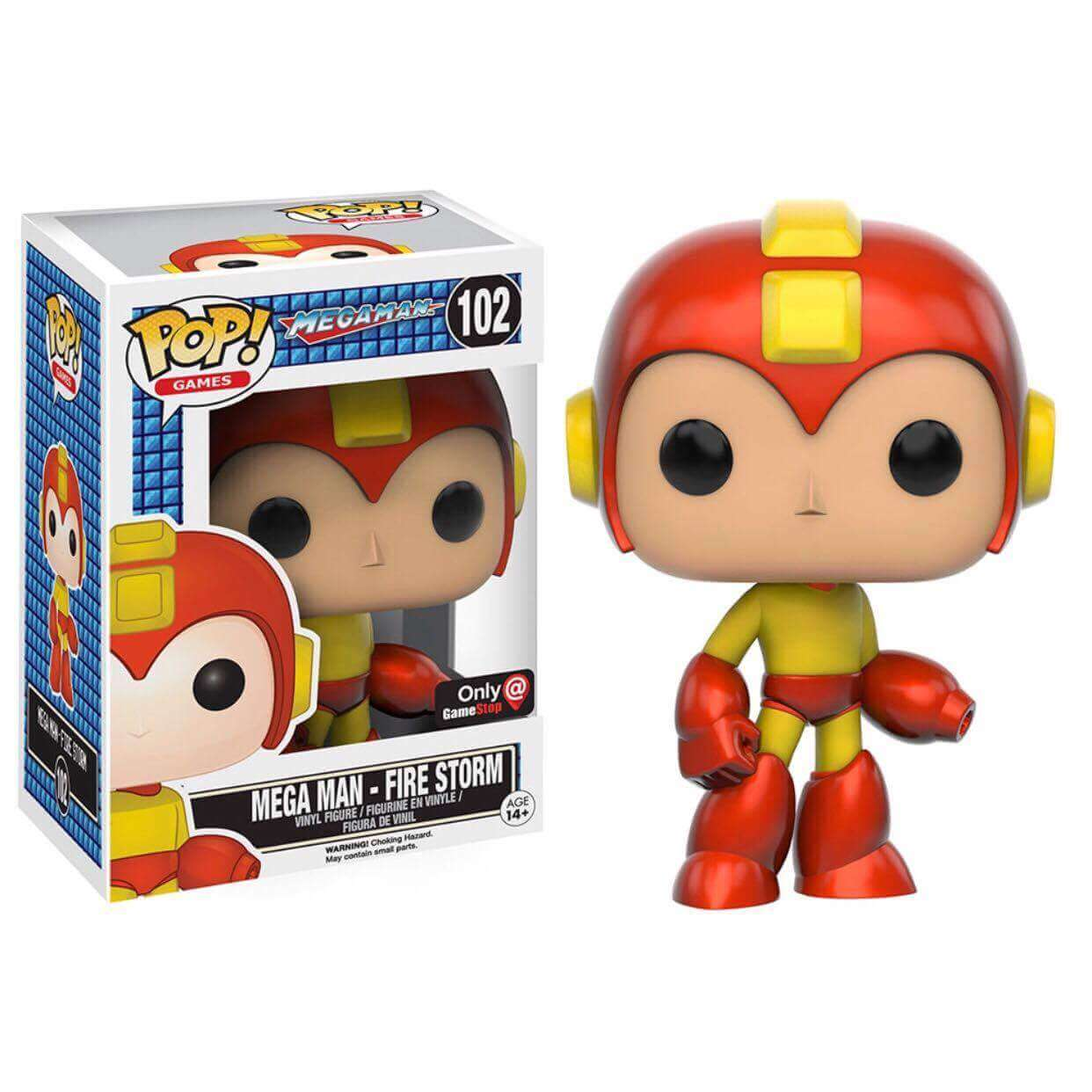 Funko Mega Man - Fire Storm Pop! Vinyl