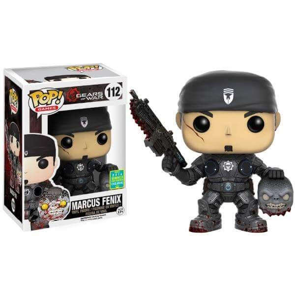 Funko Marcus Fenix With Head Pop! Vinyl