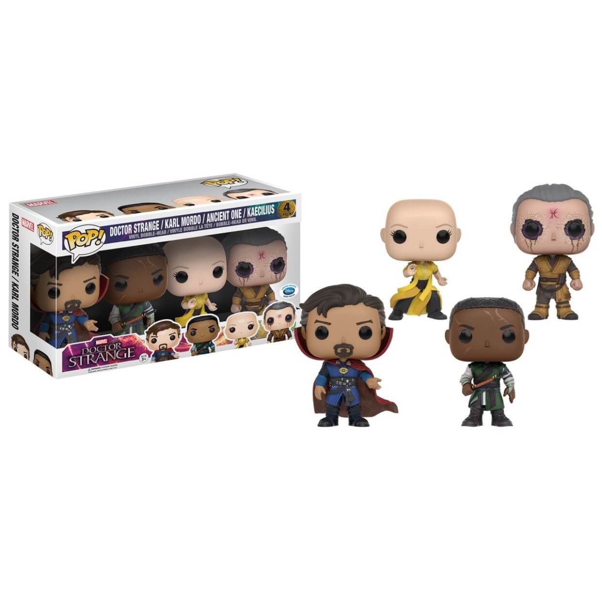 Funko Doctor Strange/Karl Mordo/Ancient One/Kaecilius Pop! Vinyl
