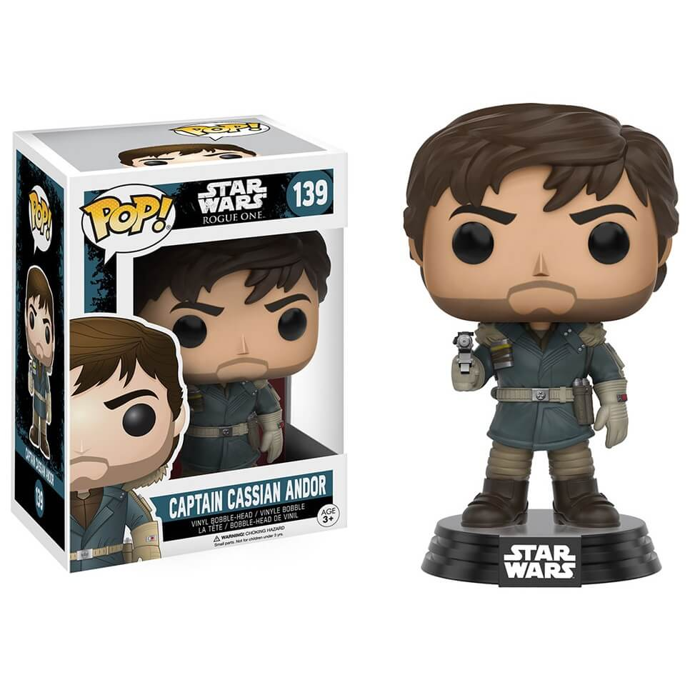 Funko Captain Cassian Andor Pop! Vinyl