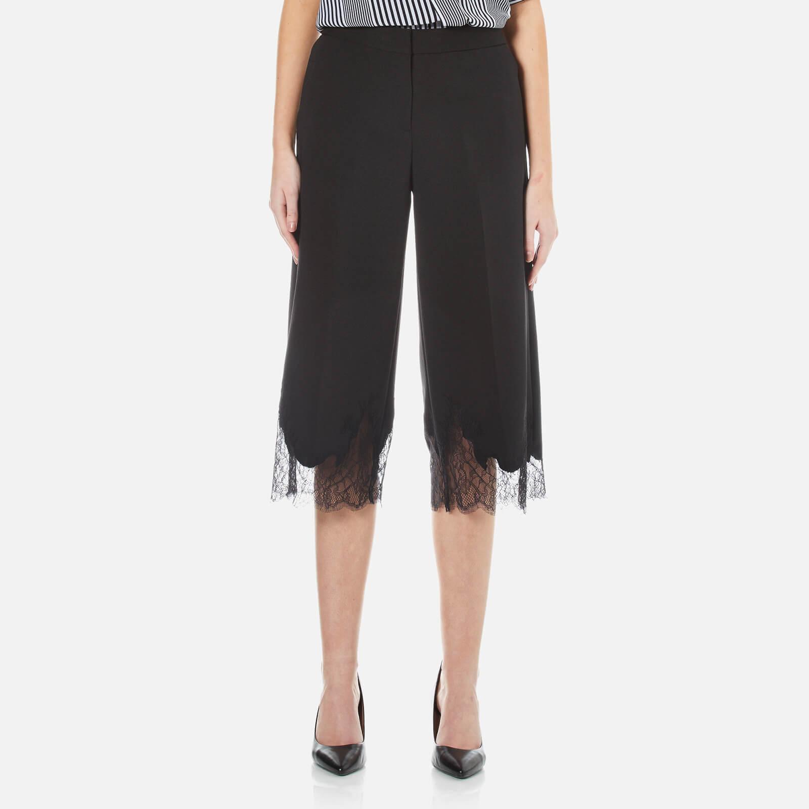 c4d7466e31ba MICHAEL MICHAEL KORS Women s Lace Combo Gaucho Trousers - Black ...