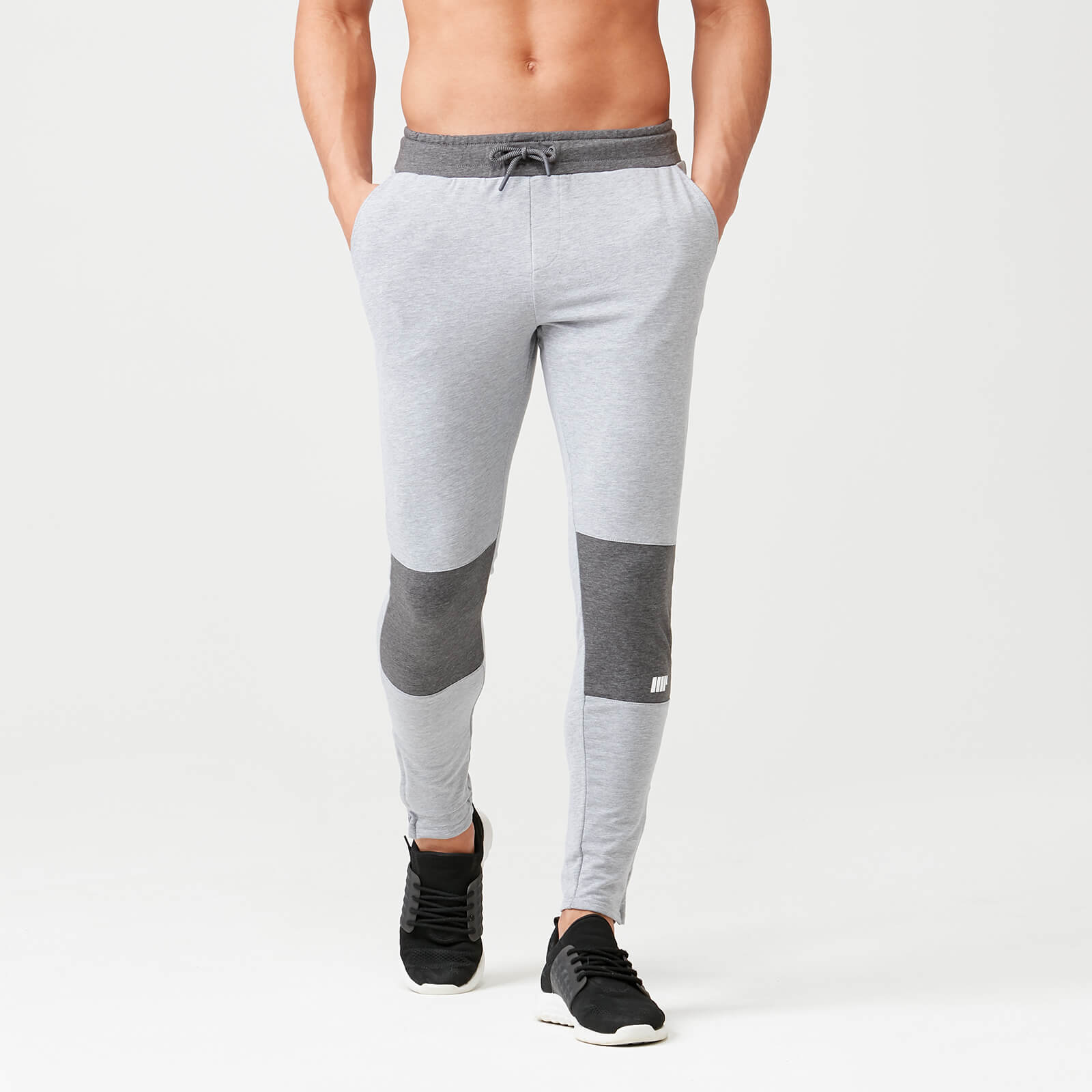 Superlite Slim Fit Joggers - Grey Marl - M