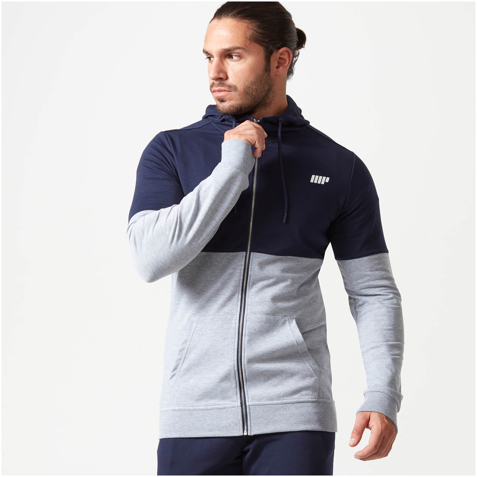 Superlite Zip-Up Hoodie - Navy - XXL