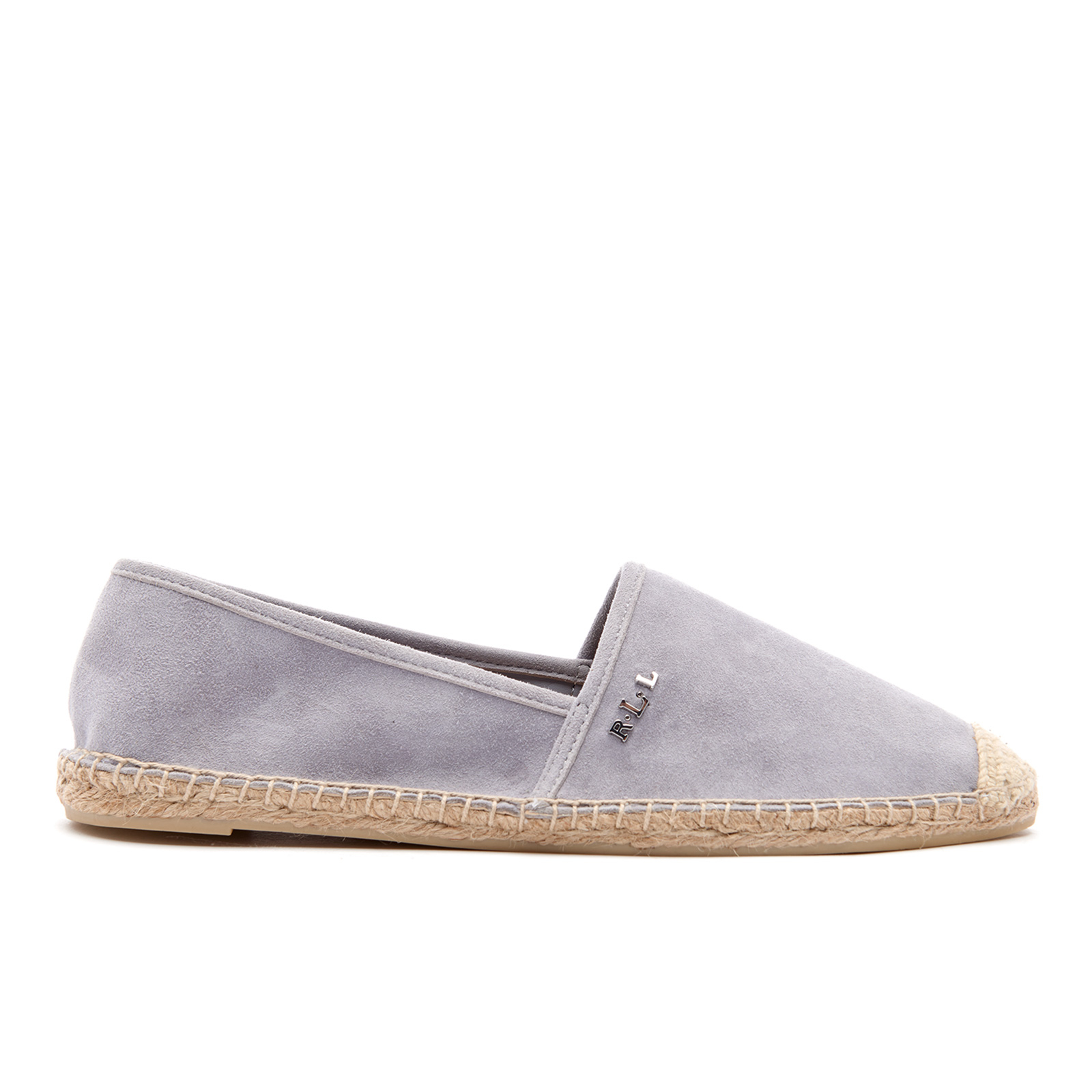 6e705d390247a Lauren Ralph Lauren Women's Danita Suede Flat Espadrilles - Chalk Grey
