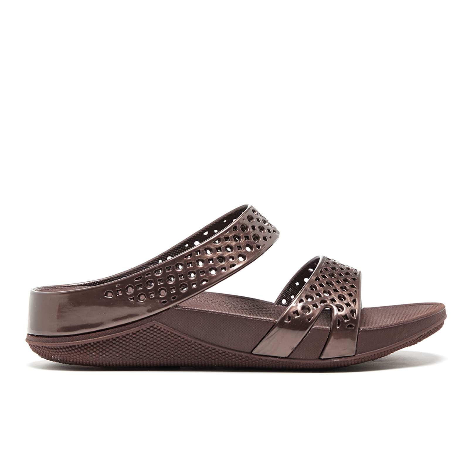 fdfac8fe3ef5 FitFlop Women s Welljelly Z-Slide Sandals - Bronze Womens Accessories