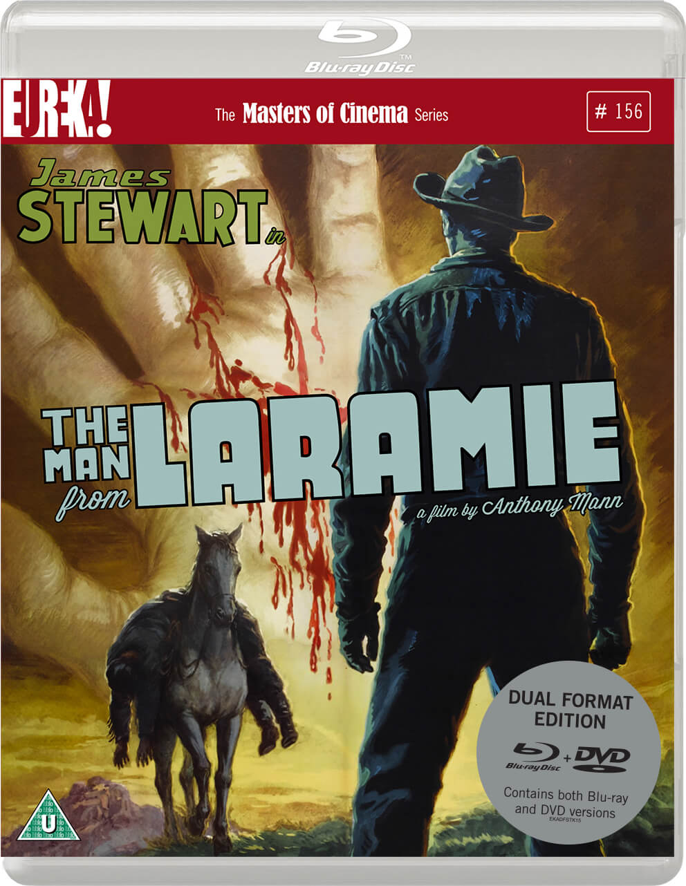 The Man From Laramie (Masters Of Cinema) - Dual Format (Includes DVD)