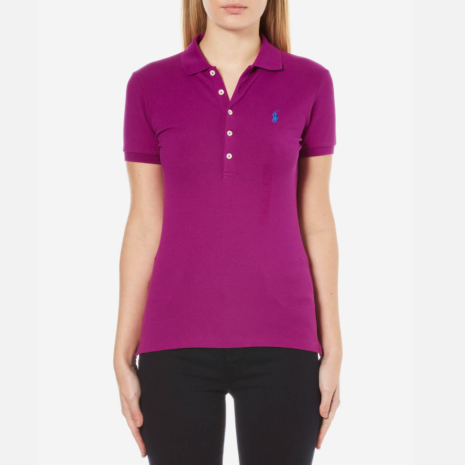 81caffec6cd5 Polo Ralph Lauren Women's Julie Polo Shirt - Bright Magenta - Free UK  Delivery over £50