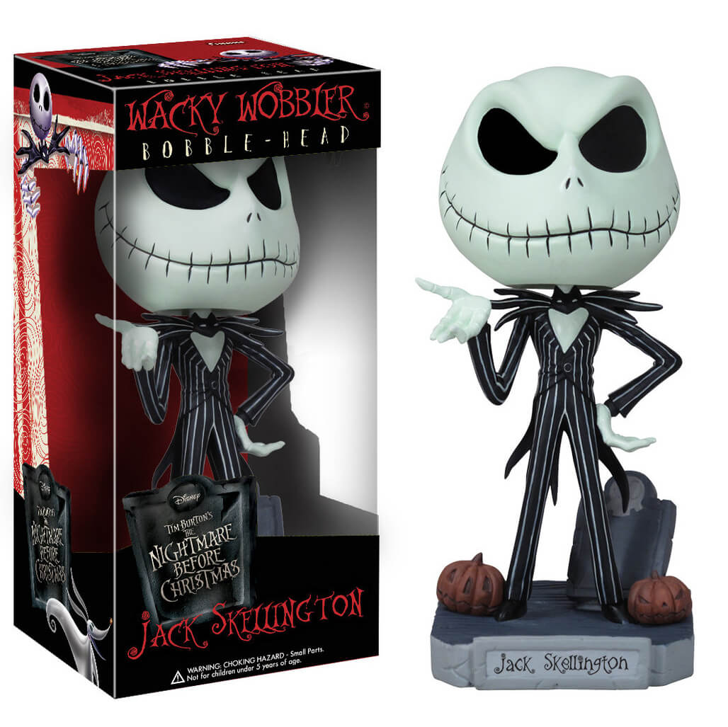 Funko Jack Bobble Head Wacky Wobblers