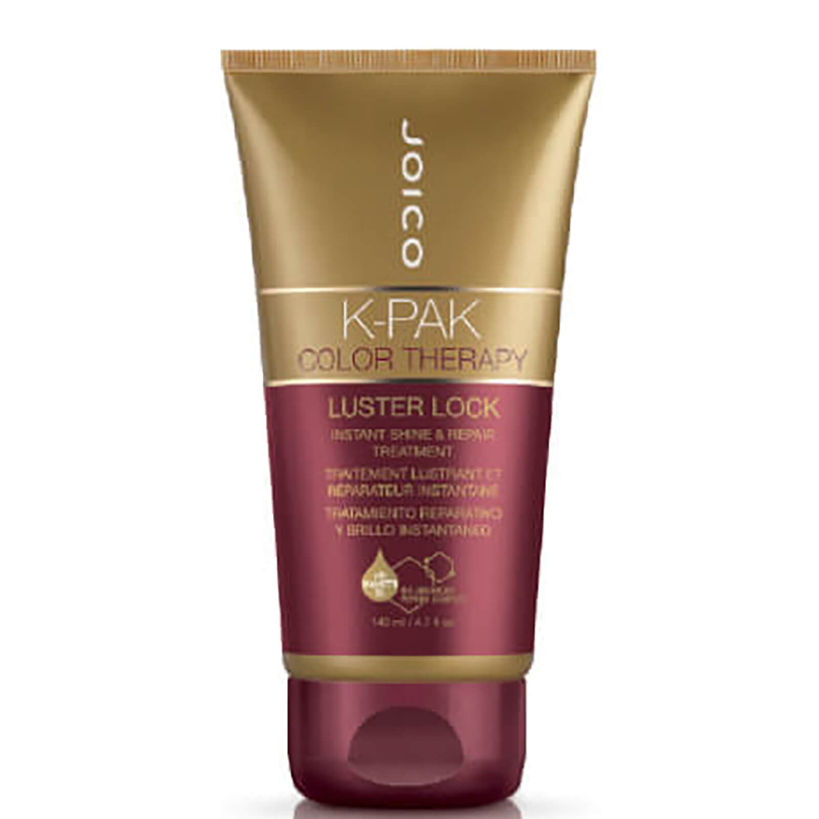 7463d9007f9 Joico K-Pak Colour Therapy Luster Lock Instant Shine and Repair Treatment  140ml | Free Shipping | Lookfantastic