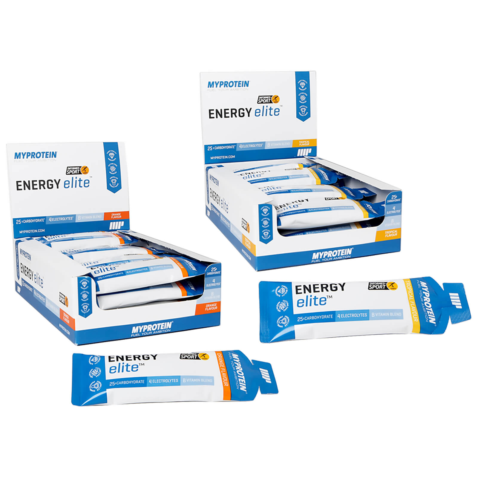 Myprotein Energy Elite Bundle - Orange/Tropical