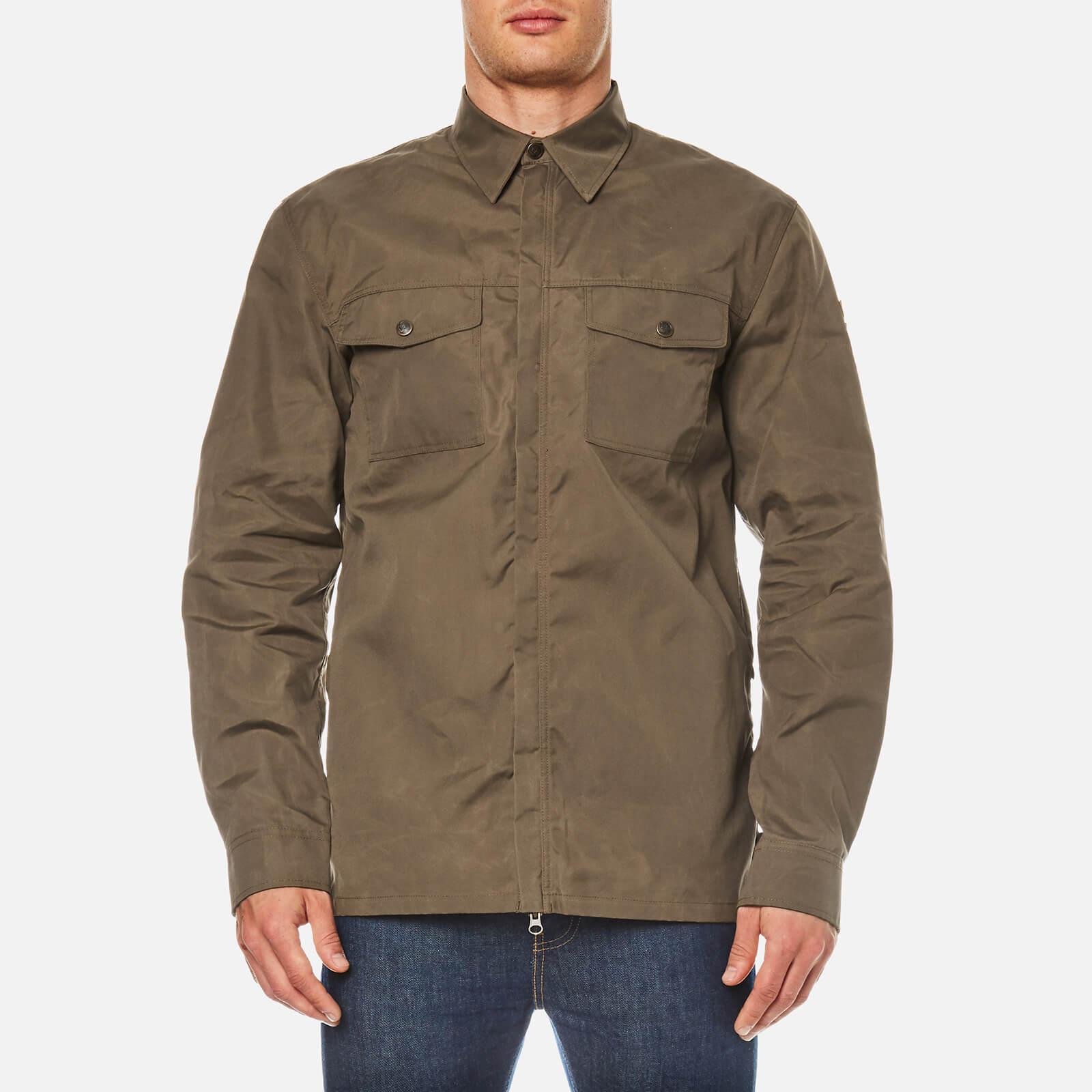 100% authentic 27034 19140 Fjallraven Men's G-1000 Long Sleeve Shirt - Tarmac