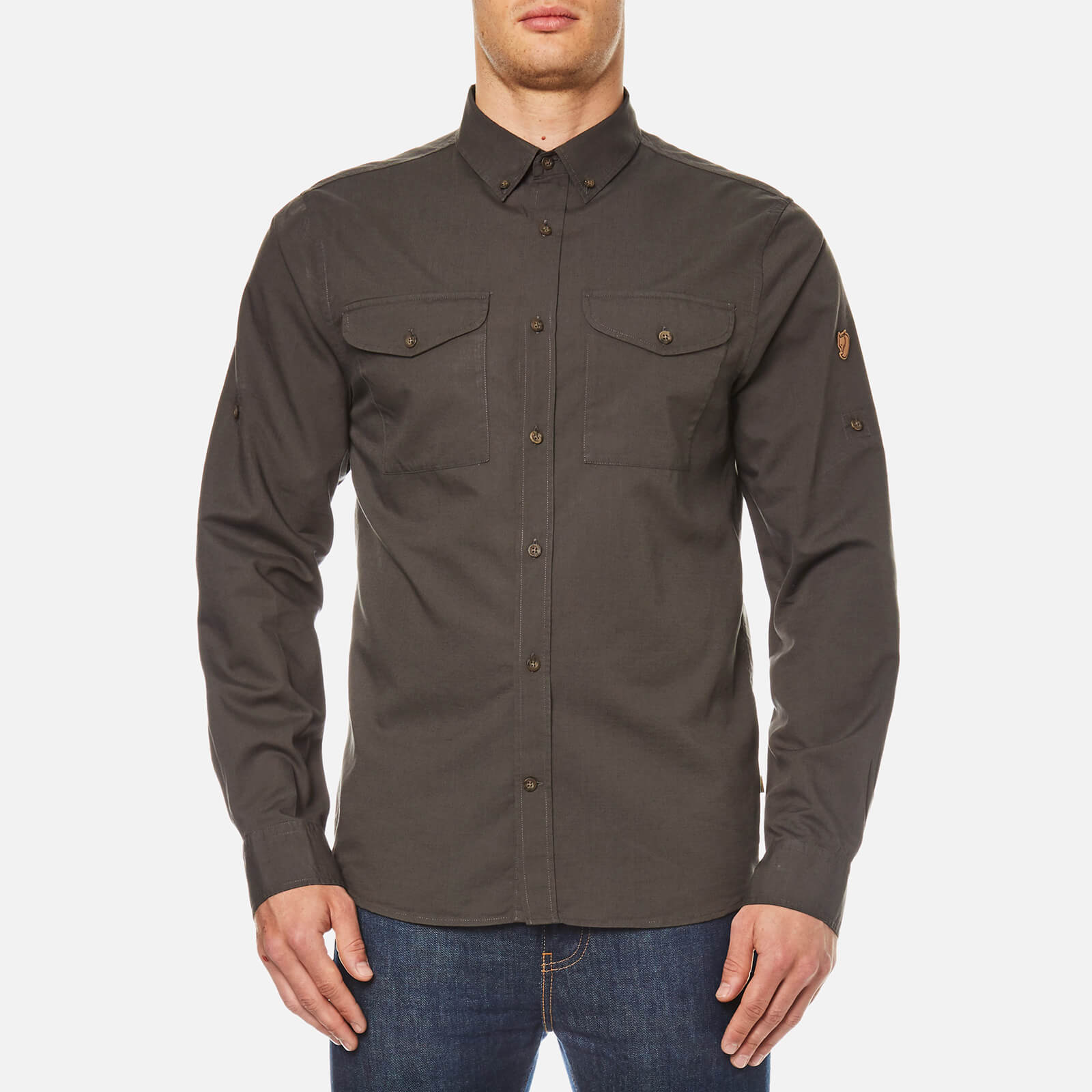 najlepiej kochany kolejna szansa kod promocyjny Fjallraven Men's Ovik Lite Long Sleeve Shirt - Mountain Grey