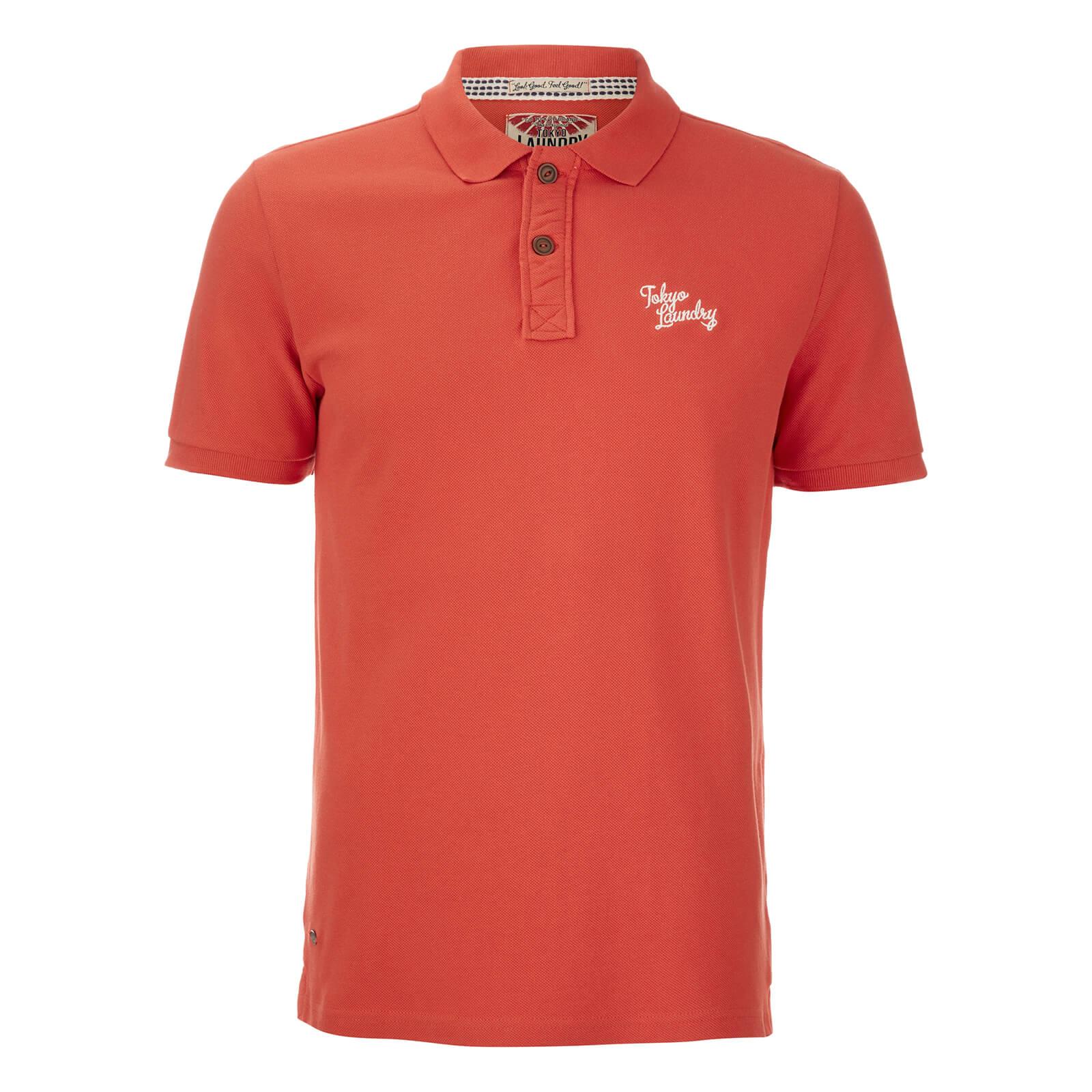 Tokyo Laundry Mens Penn State Polo Shirt Paprika Clothing Zavvi