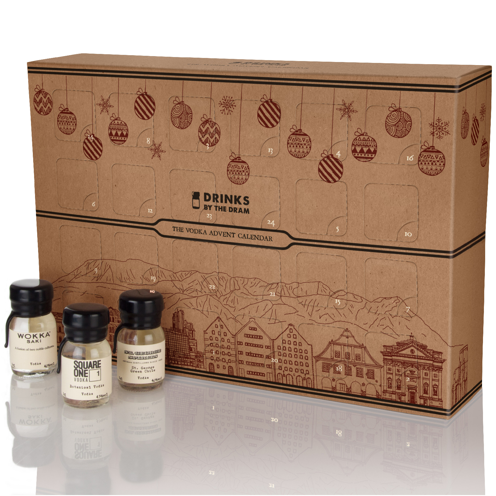 Drinks by the Dram The Vodka Advent Calendar
