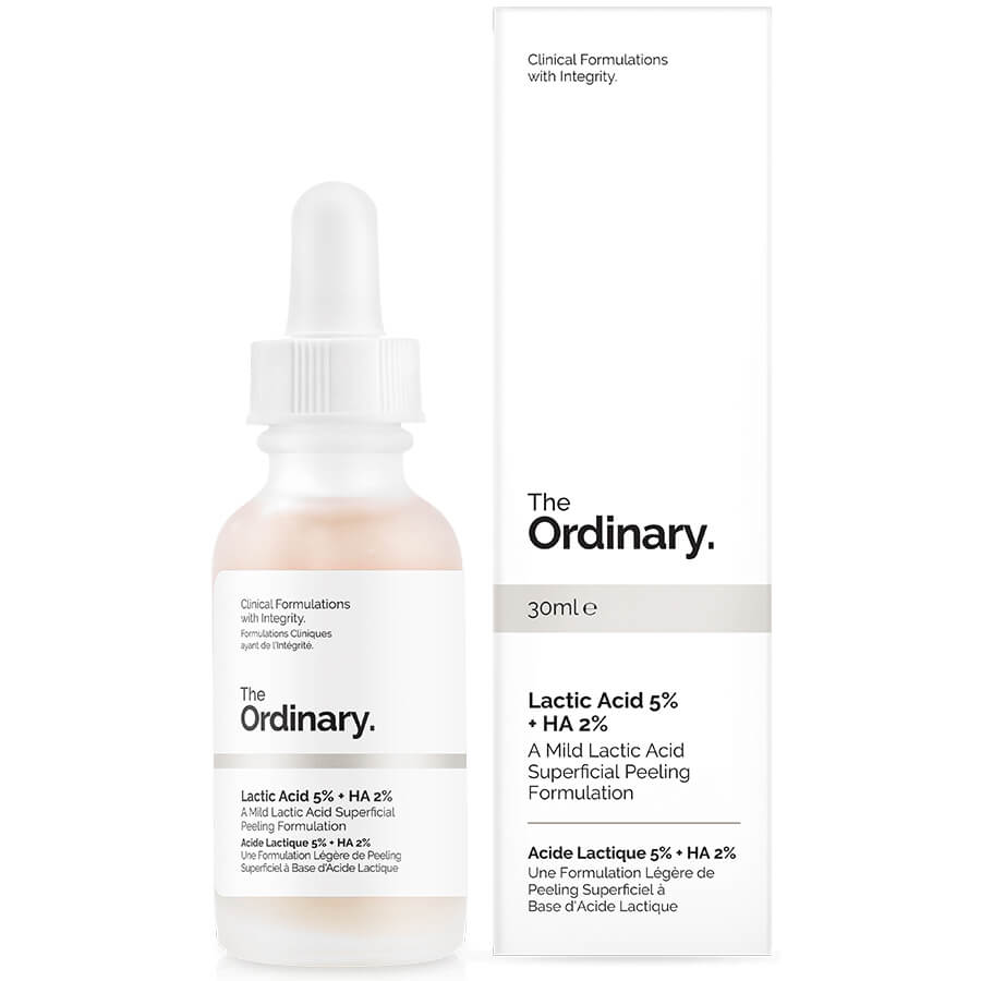 The Ordinary Lactic Acid 5% Review AHA/ Direct Acid as part of your skin care regimen/routine.