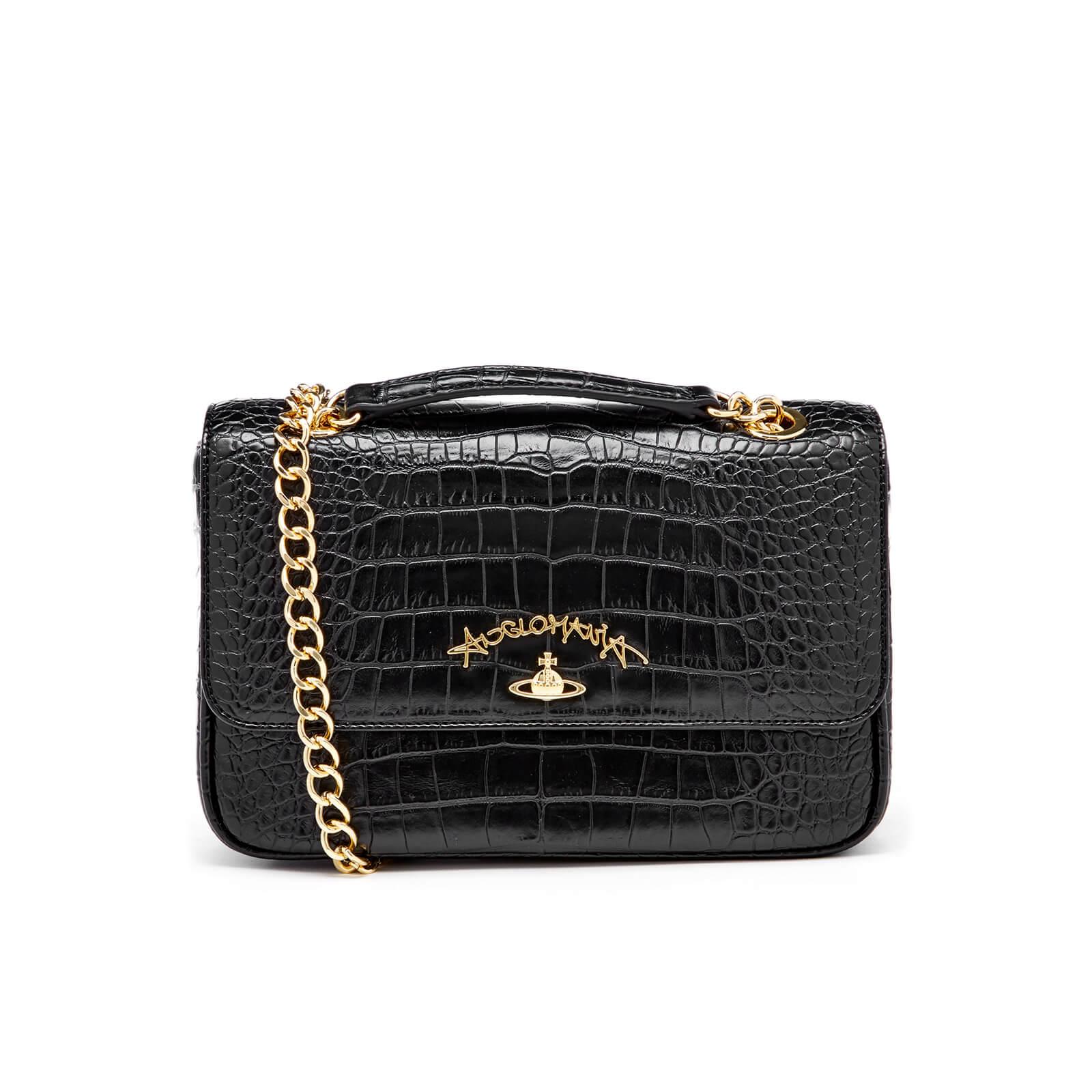920c00fdfc Vivienne Westwood Women's Anglomania Dorset Croc Shoulder Bag - Black -  Free UK Delivery over £50