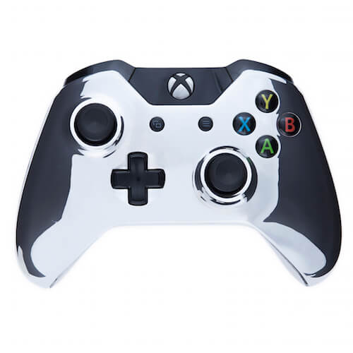 Custom Controllers Xbox One Controller - Chrome Silver Edition