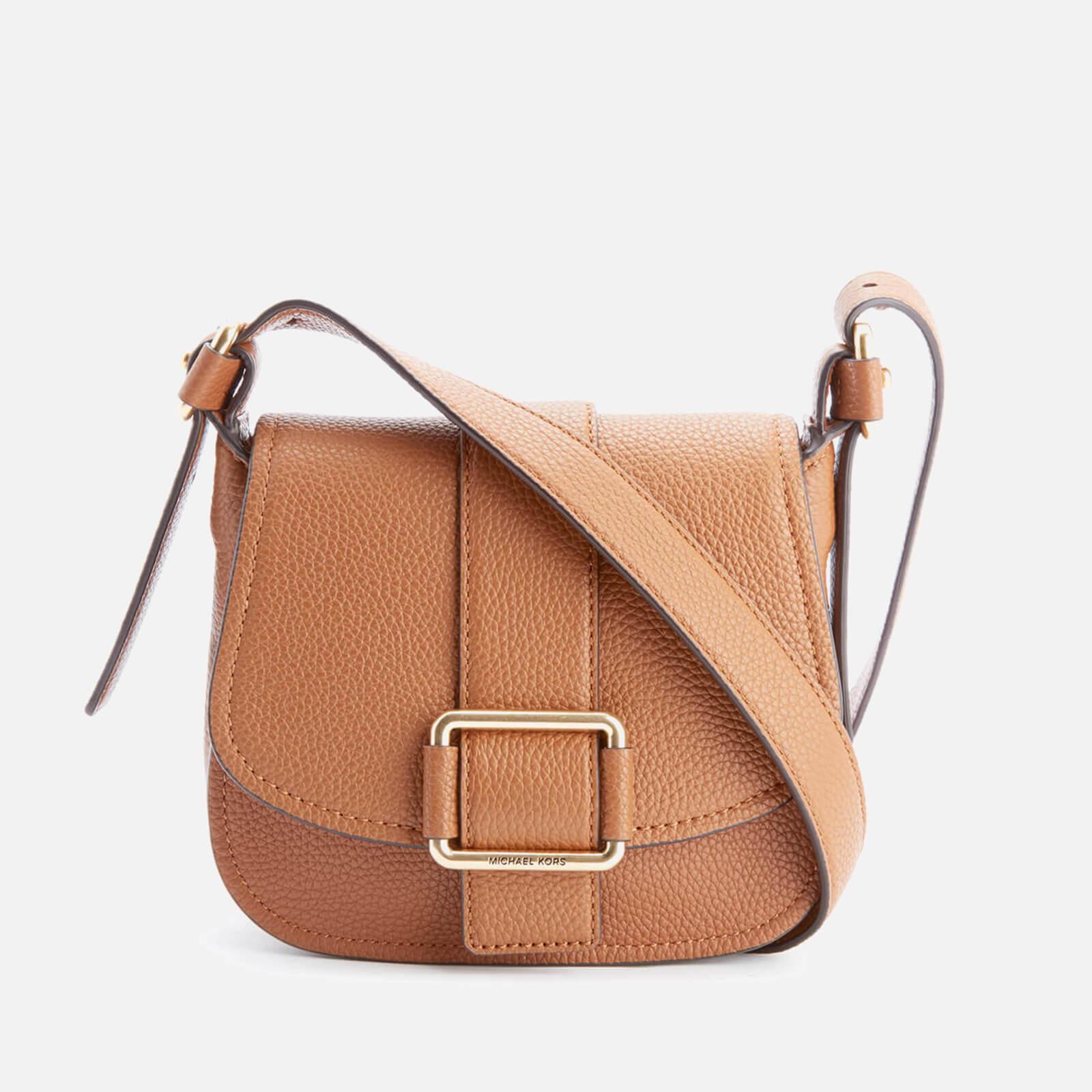 c4b51dbad1f8e MICHAEL MICHAEL KORS Women s Maxine Mid Saddle Bag - Luggage - Free UK  Delivery over £50