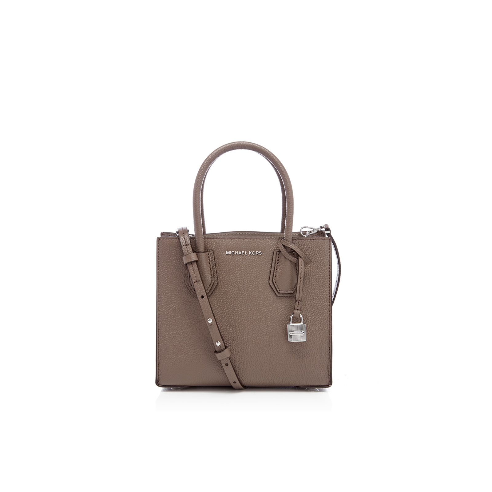 34bc0446601a MICHAEL MICHAEL KORS Women's Mercer Mid Messenger Tote Bag - Cinder - Free  UK Delivery over £50