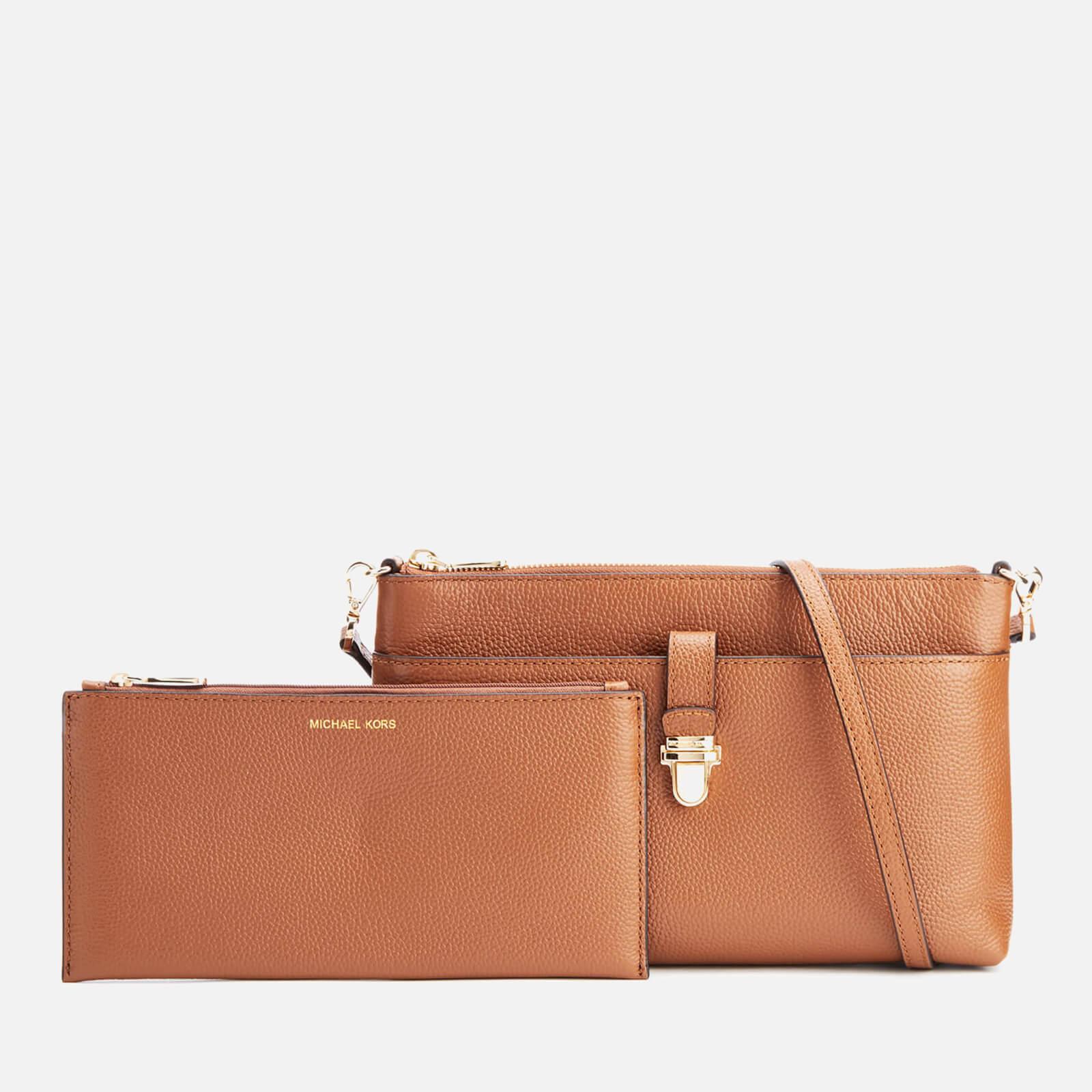 ff12da944667c ... MICHAEL MICHAEL KORS Women s Mercer Large Snap Pocket Cross Body Bag -  Luggage