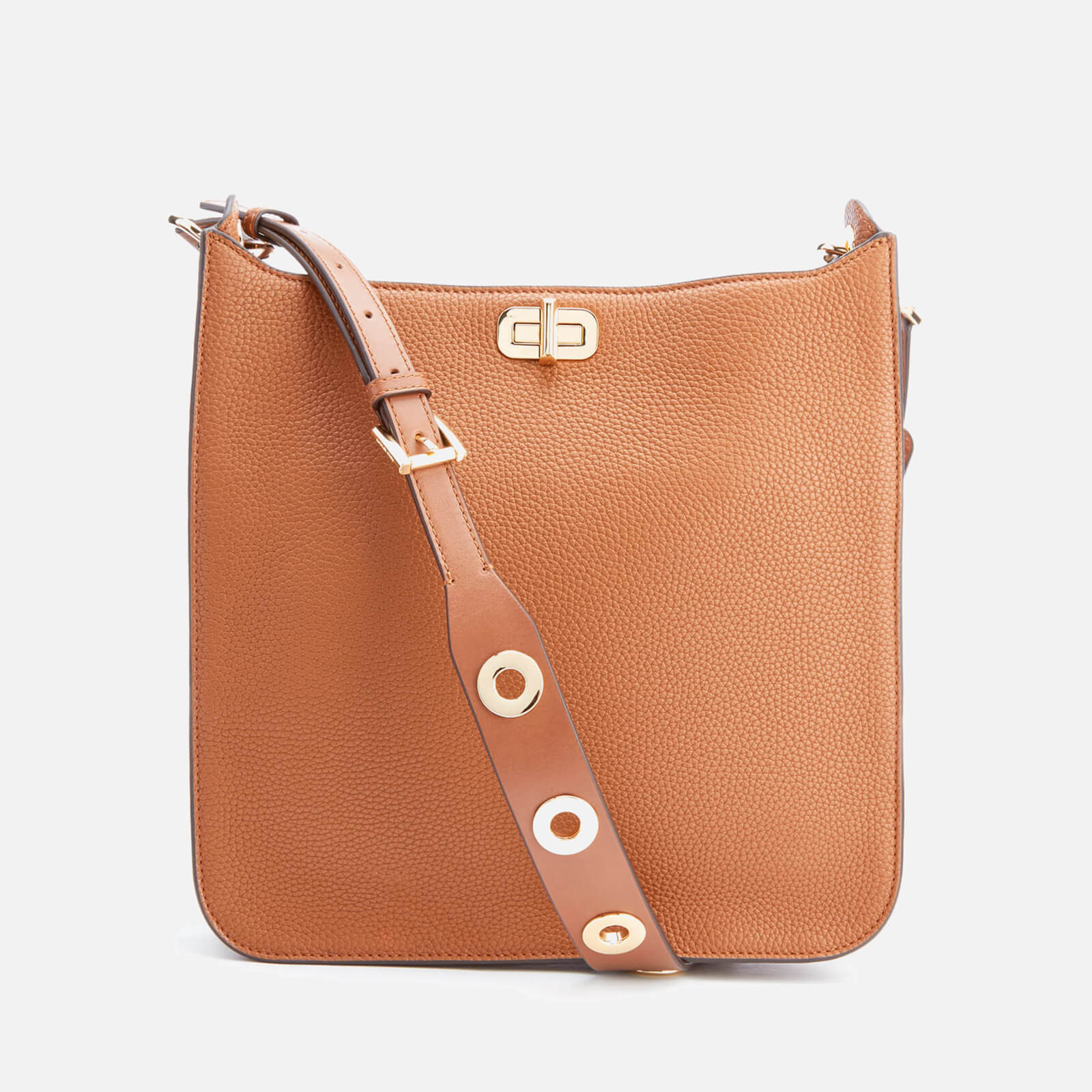 051c52ad9a4c MICHAEL MICHAEL KORS Women s Sullivan Large North South Messenger Bag -  Luggage - Free UK Delivery over £50