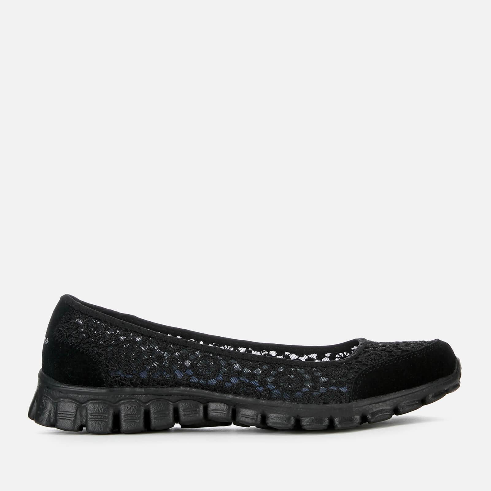 684cb9681e60 Skechers Women s EZ Flex 2 Flighty Shoes - Black Womens Footwear