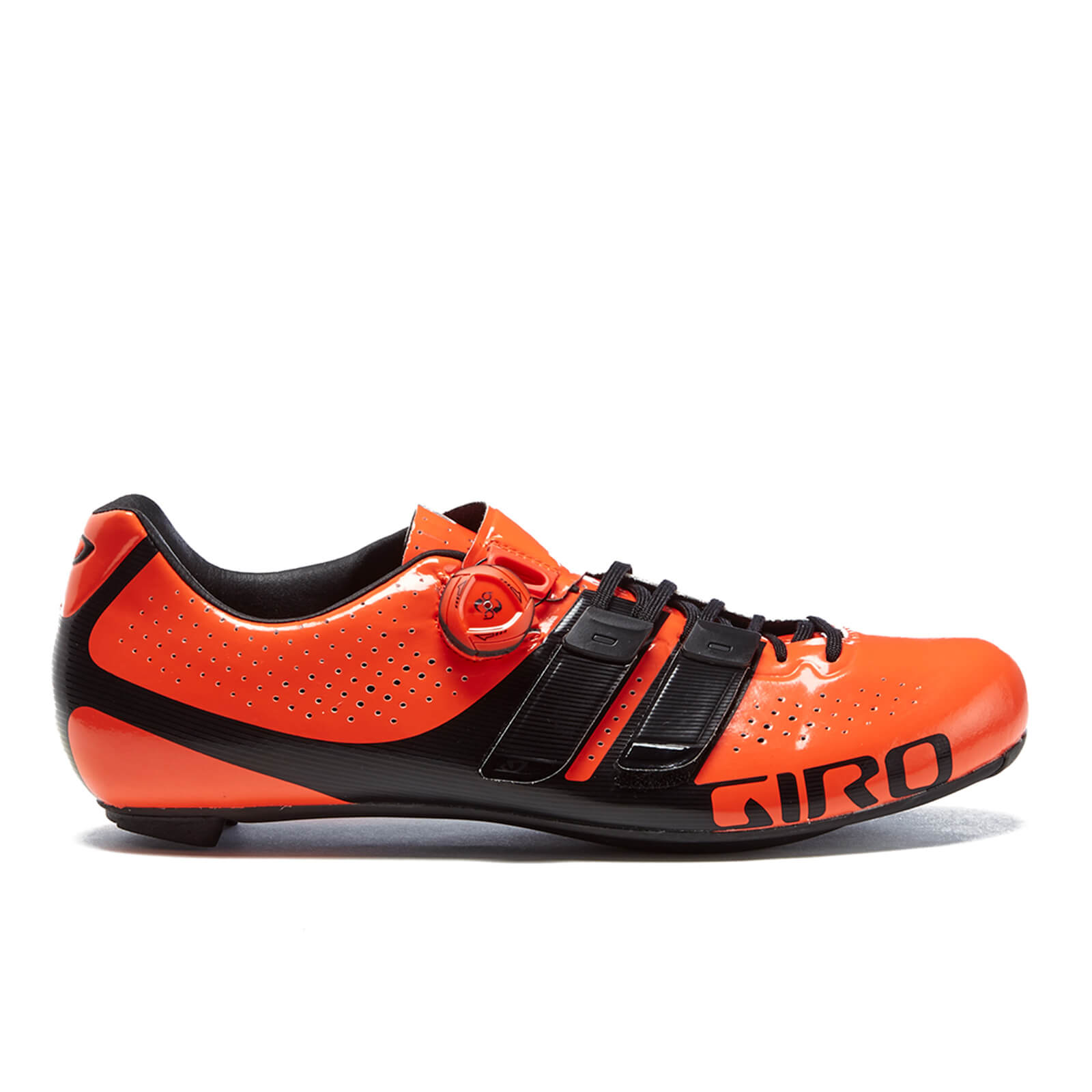 Giro Factor Techlace Road Cyling Shoes - Red/Black