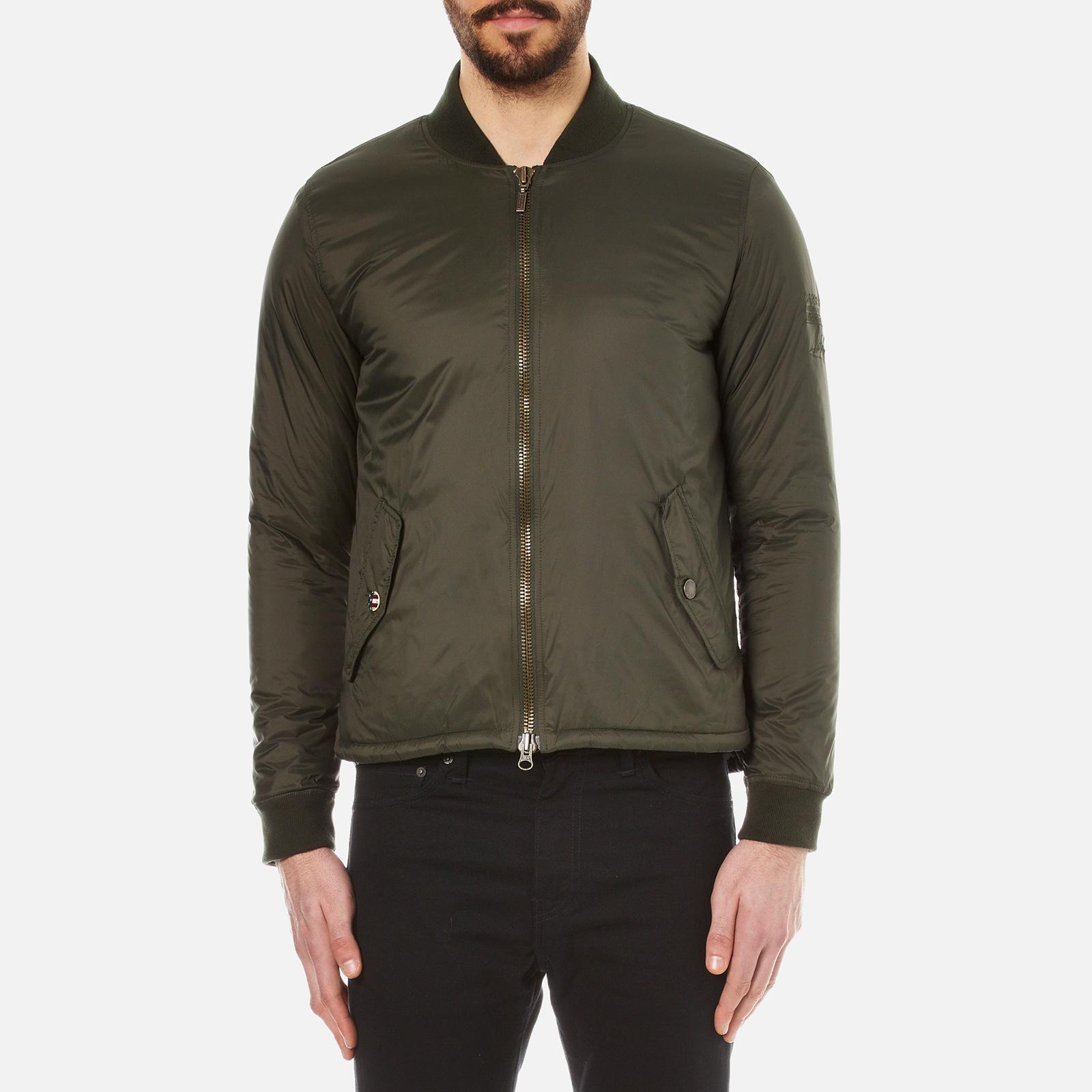 0b41df70d Barbour X Steve McQueen Men's Oil Field Quilt Jacket - Sage