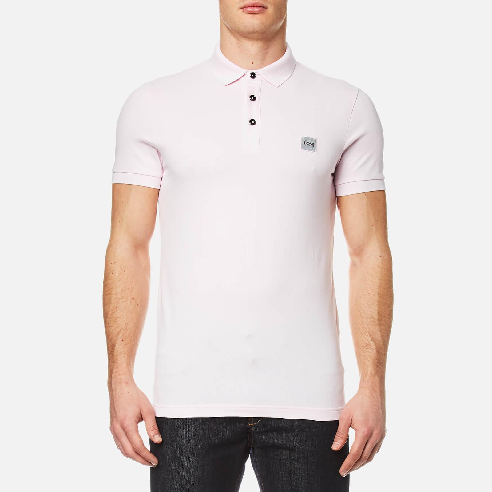 0819eca3 BOSS Orange Men's Pavlik Polo Shirt - Pastel Pink - Free UK Delivery over  £50