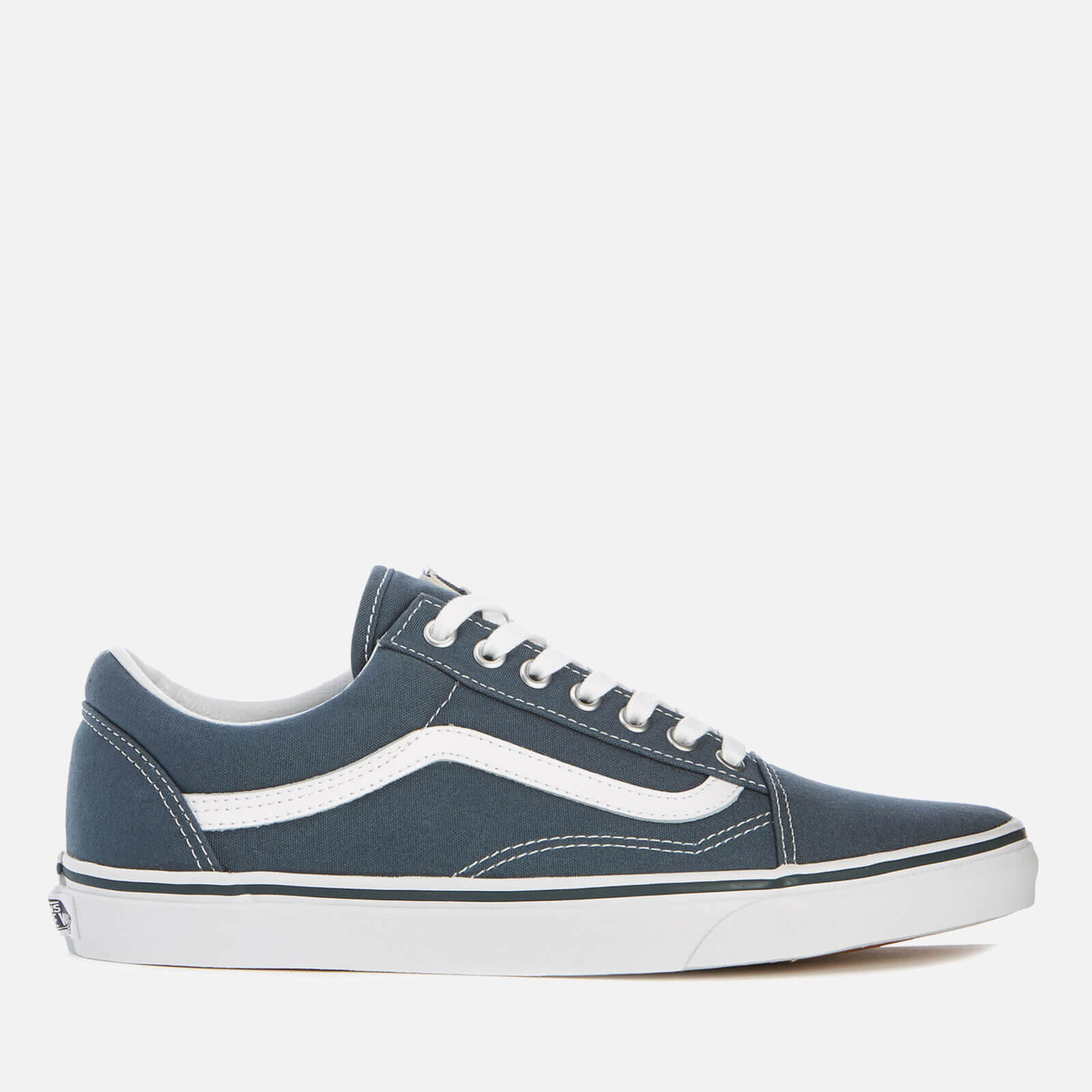 7fd65c6087 Vans Men s Old Skool Canvas Trainers - Dark Slate True White Mens Footwear