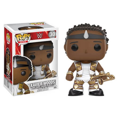 WWE Xavier Woods Pop! Vinyl Figure
