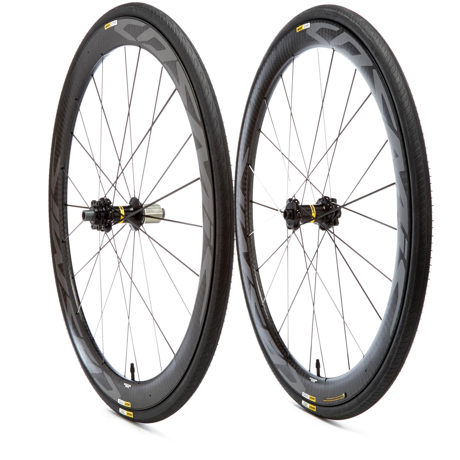 3dfb3610d24 Mavic Cosmic Pro Carbon Disc Clincher Wheelset | ProBikeKit.com