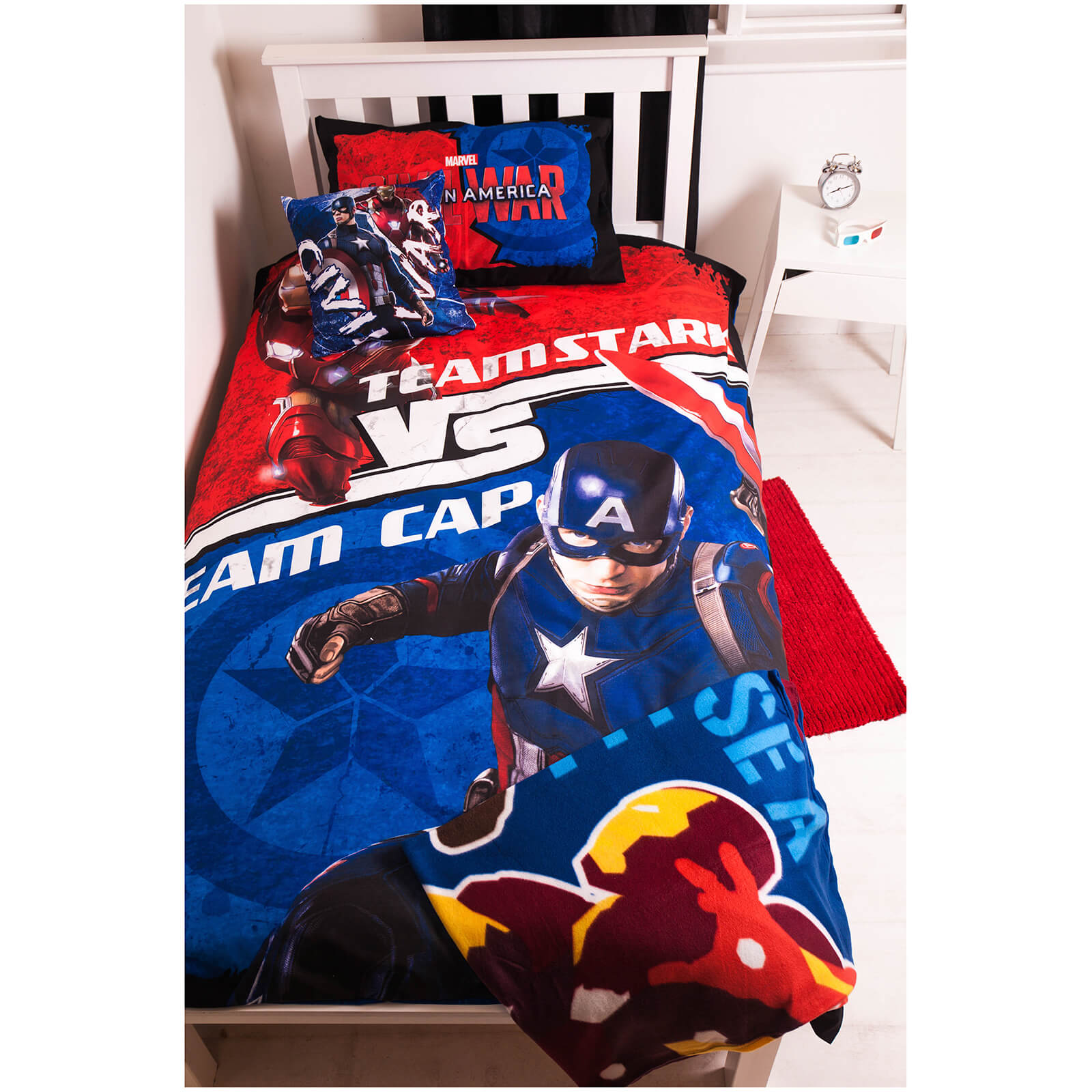 Captain America: Civil War Bed Bundle - Single