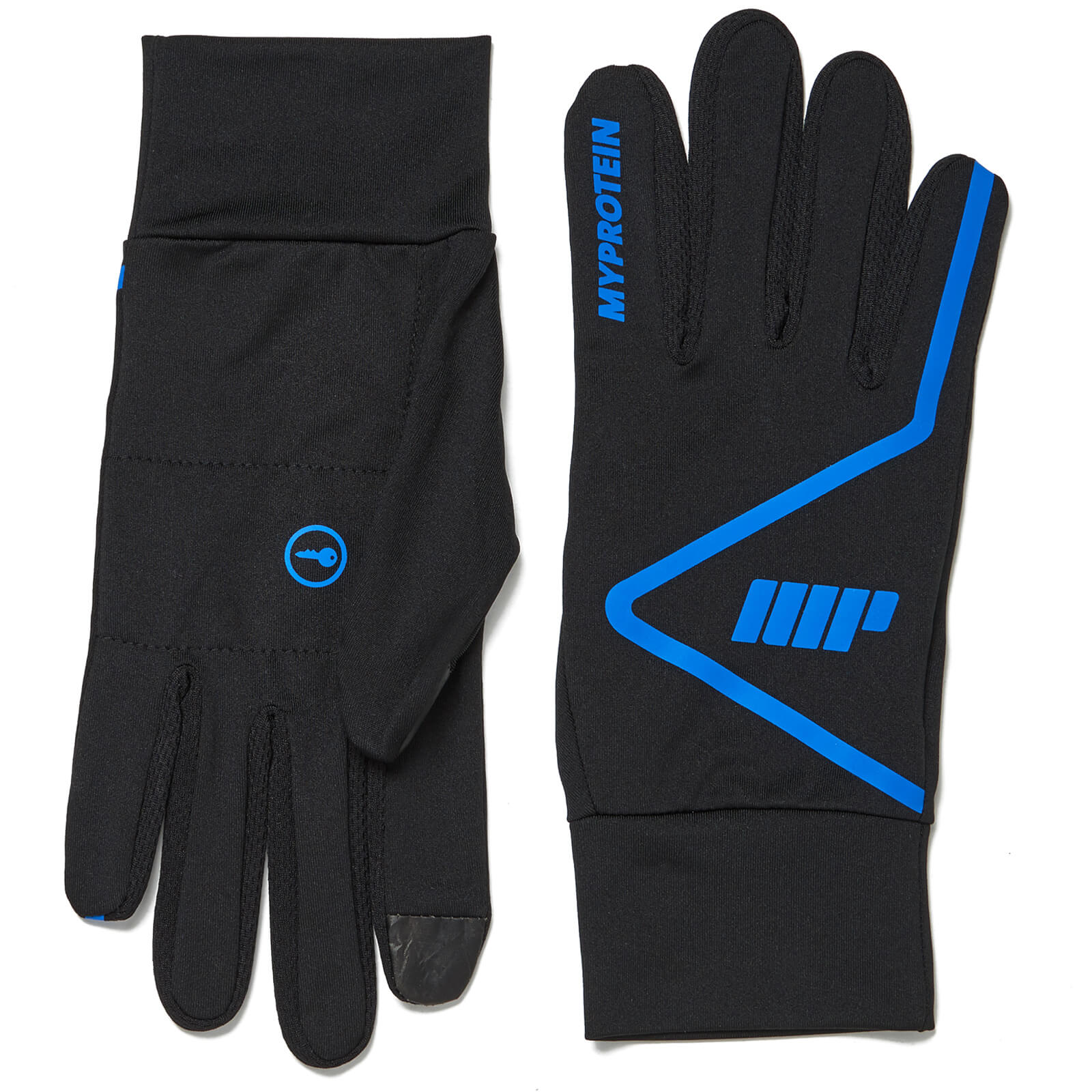 Myprotein Core Running Gloves - Black - S/M