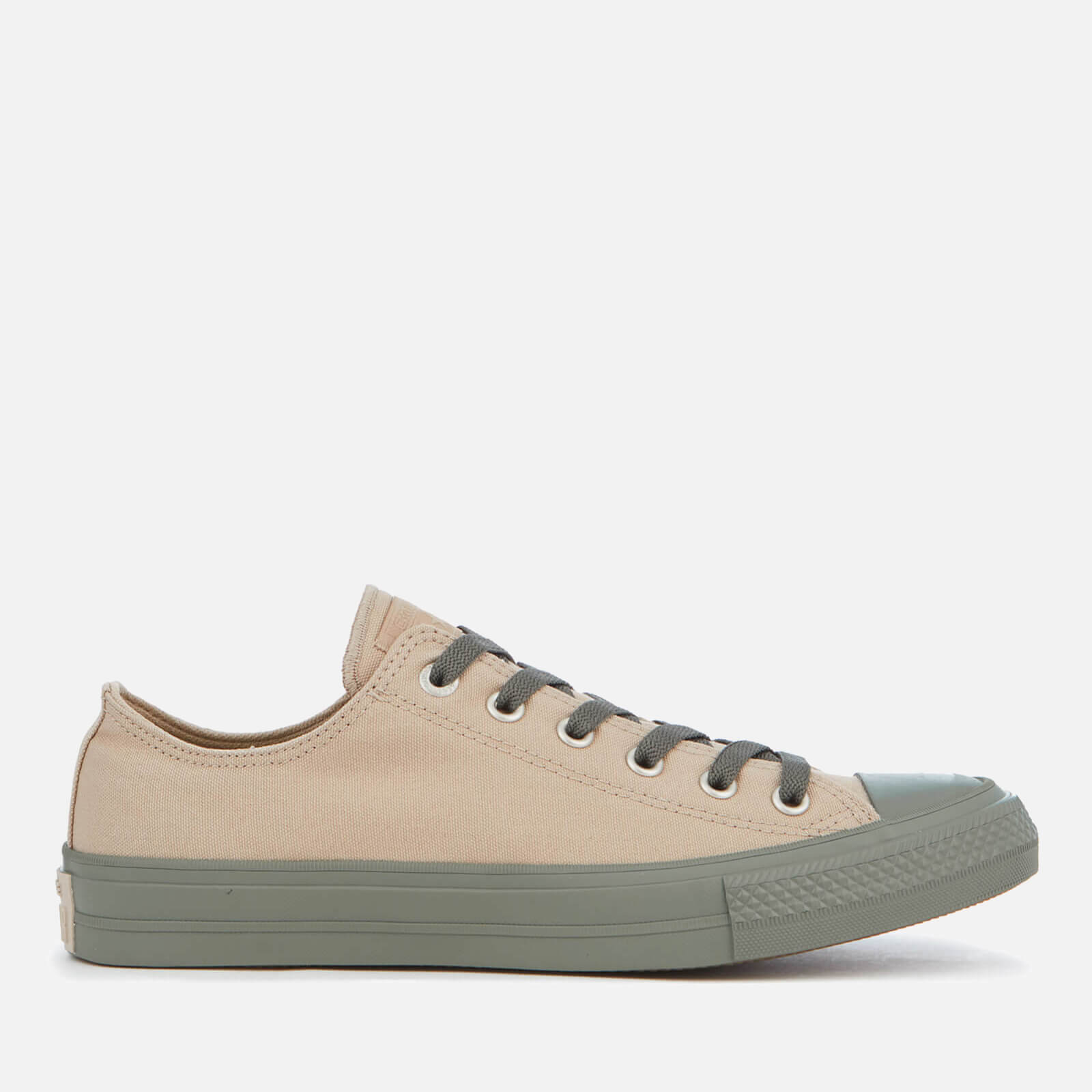 afd92d46ed5135 Converse Men s Chuck Taylor All Star II OX Trainers - Vintage Khaki Olive  Submarine Gim - Free UK Delivery over £50