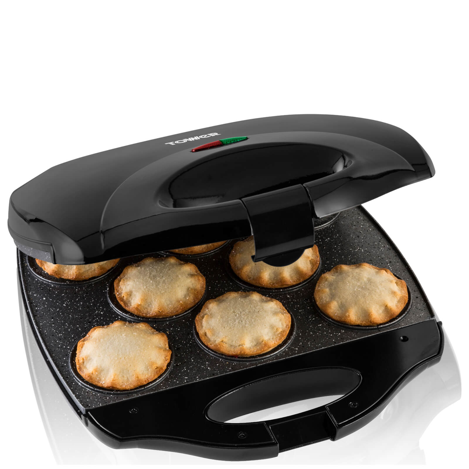Tower 8 Mince Pie Maker - Black