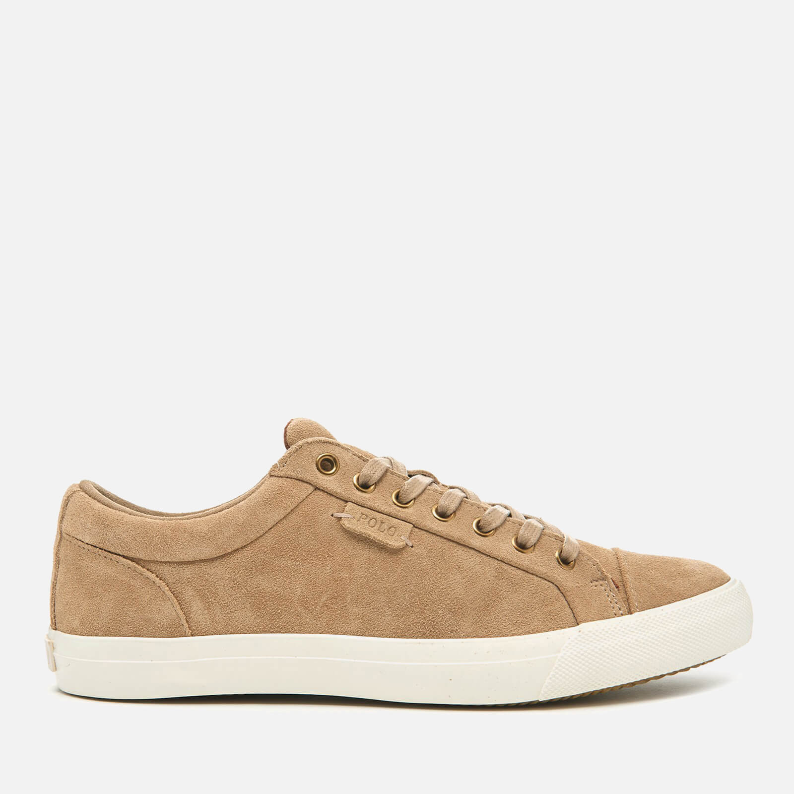 Court Lauren Geffrey Tan Men's Polo Trainers Suede Ralph 5Ac4qj3RL