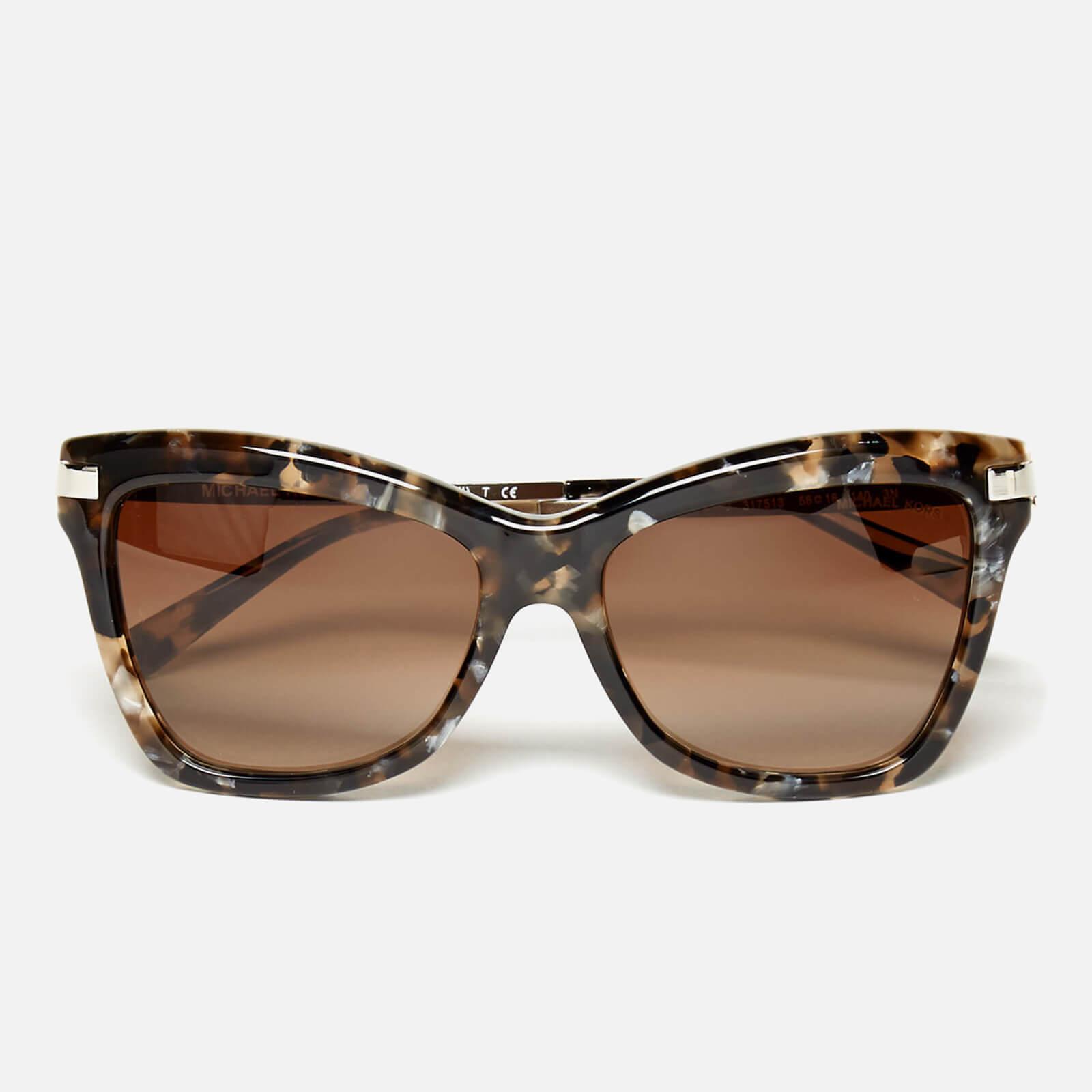 a5bb8793af568 MICHAEL MICHAEL KORS Women s Audrina III Sunglasses - Brown Mosaic Womens  Accessories