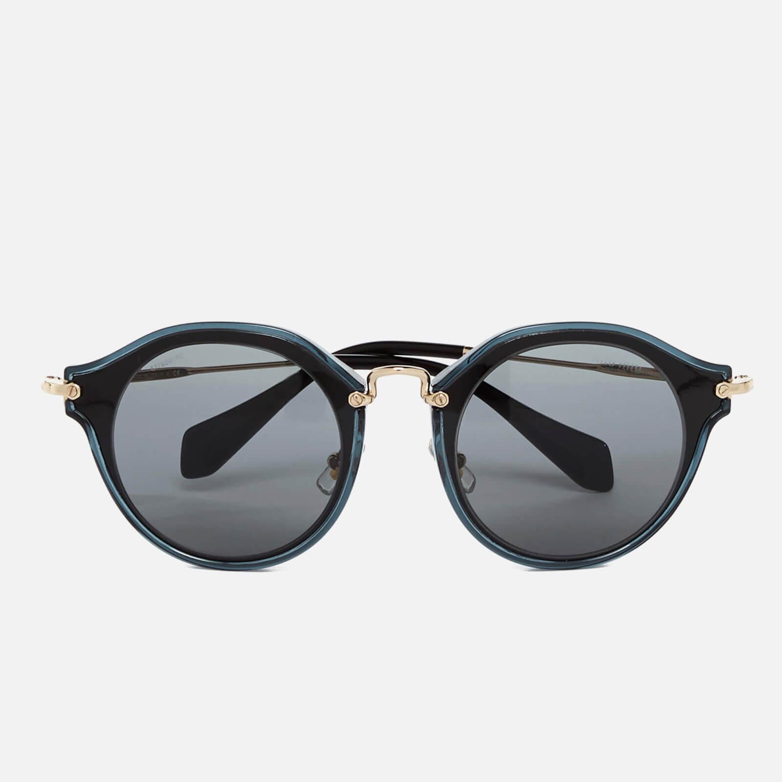 00b8ff103e19 Miu Miu Women's Noir Metal Rim Frame Sunglasses - Black
