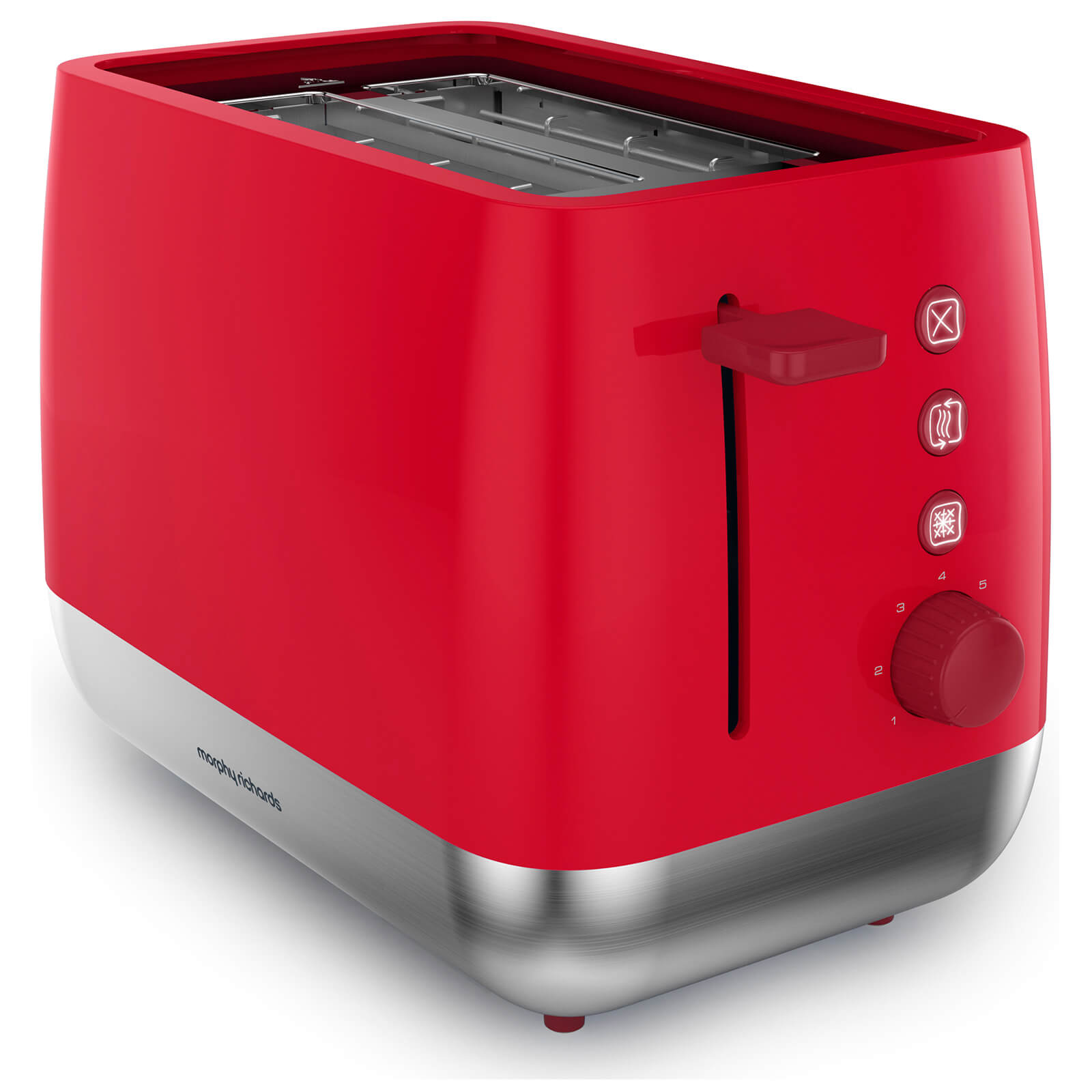 Morphy Richards 221112 Chroma 2 Slice Toaster - Poppy