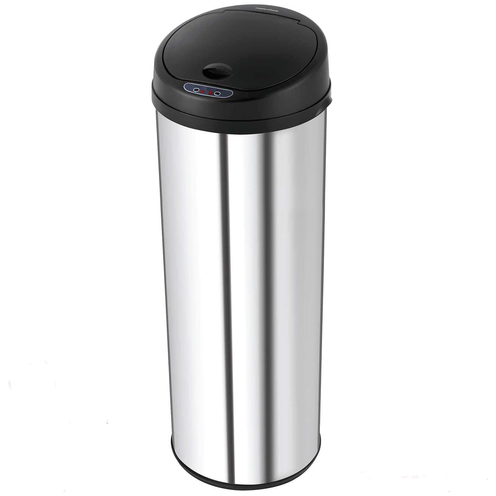 Morphy Richards 971002 50L Round Sensor Bin - Black