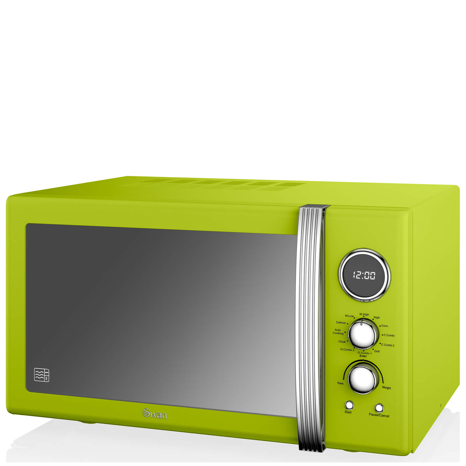 Swan 25L Digital Combi Microwave - Lime