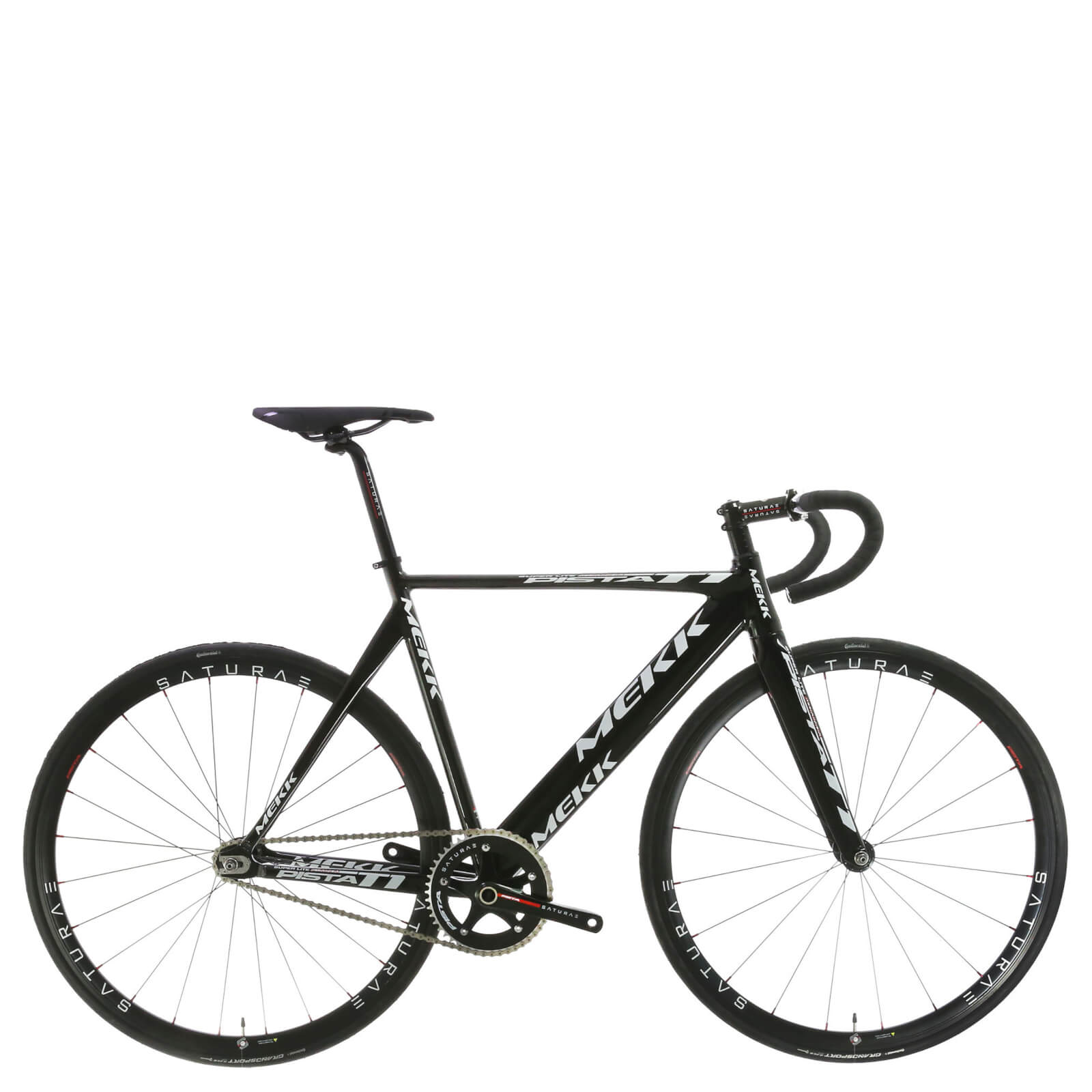 Mekk Pista T1 Track Bike 2016 - Black