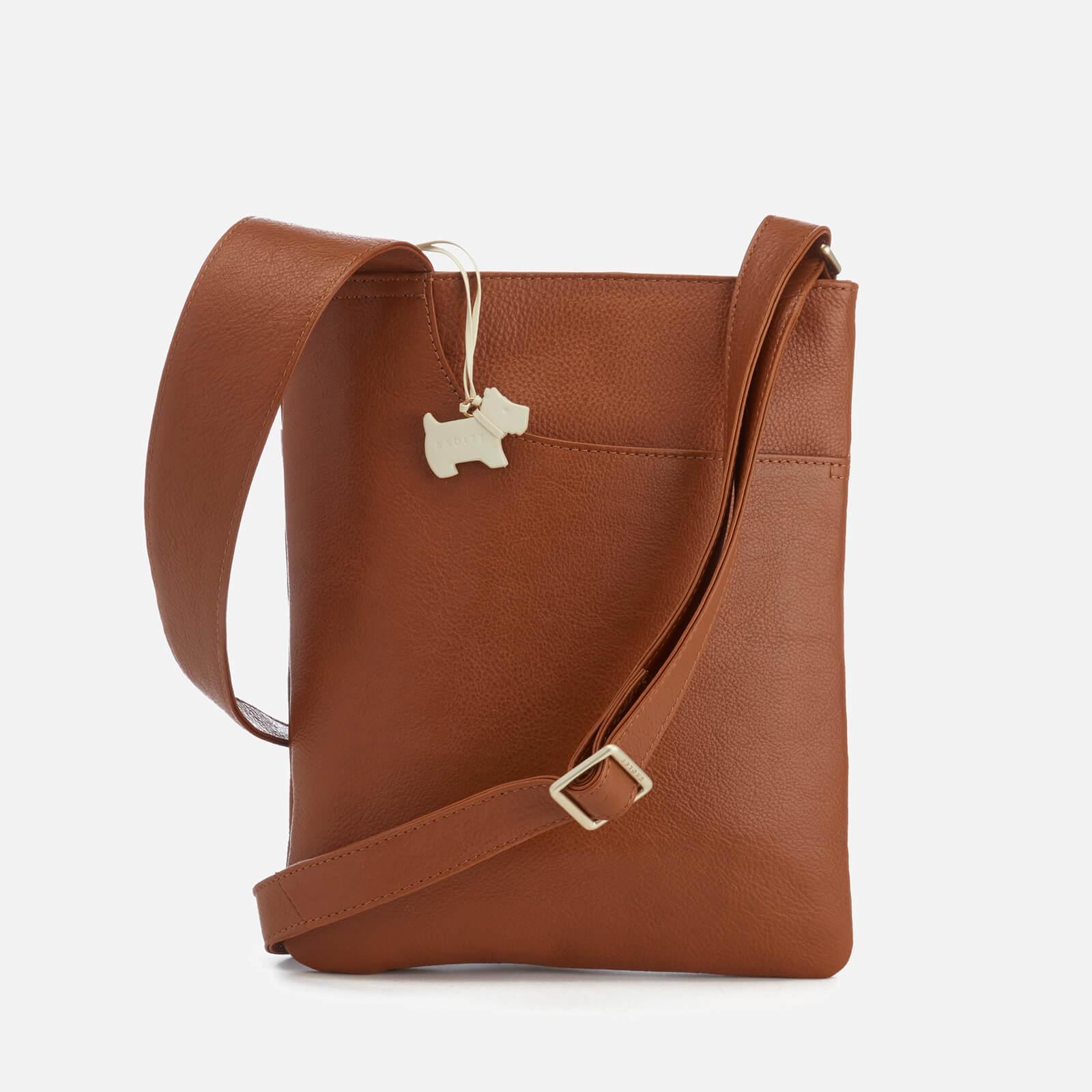 53f6d6c0fb38 Radley Women's Pocket Bag Medium Zip Top Cross Body Bag - Tan - Free UK  Delivery over £50