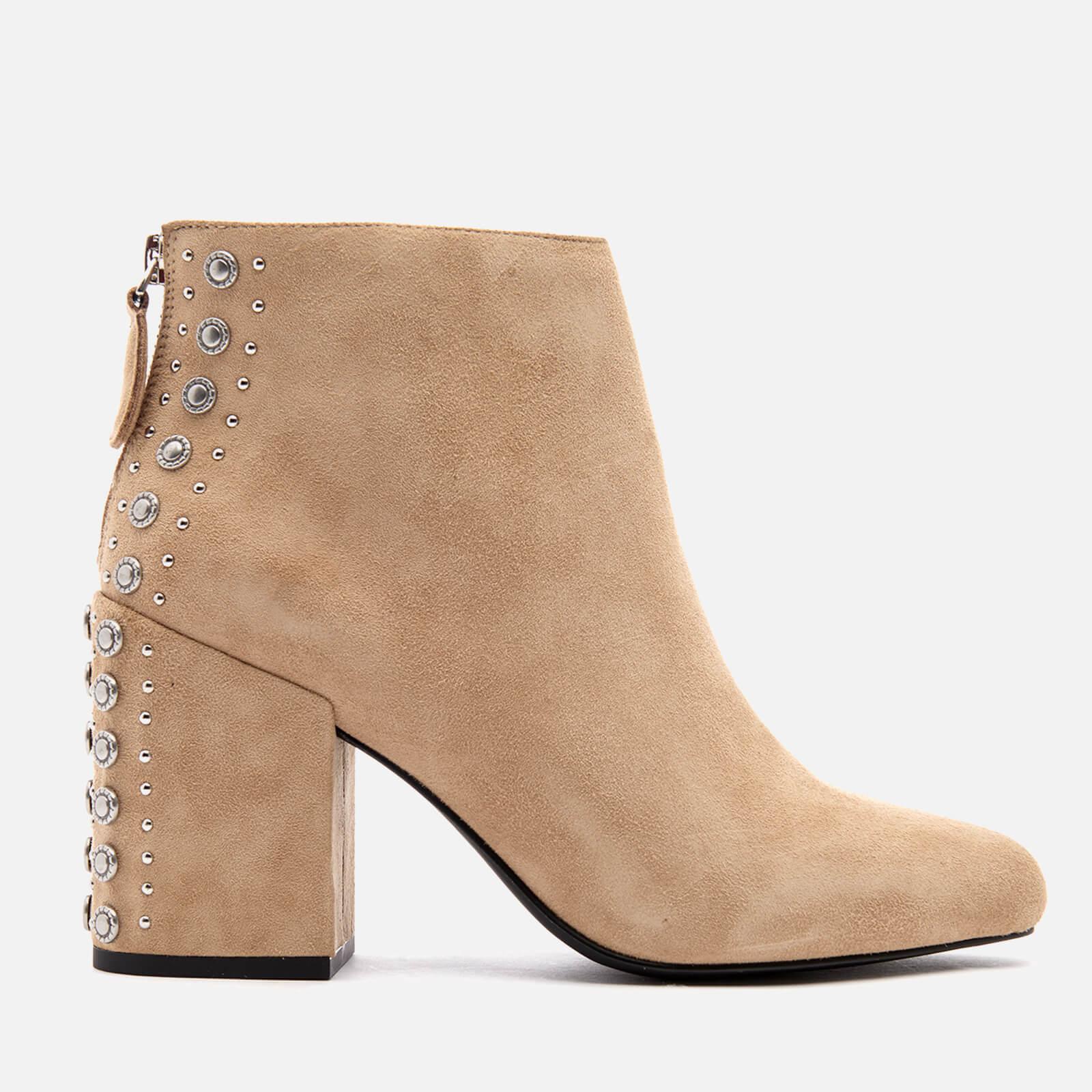 Jescinta Ii Boots Women's Sand Heeled Ankle Suede Senso