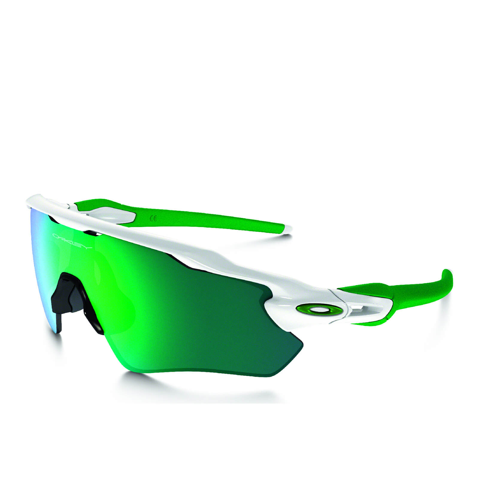 Oakley Radar EV Path Sunglasses - Polished White/Jade Iridium